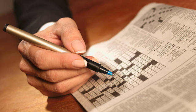 Crossword Puzzle, August 15, 2018