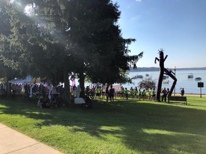 Alzheimers' Walk Lake Geneva