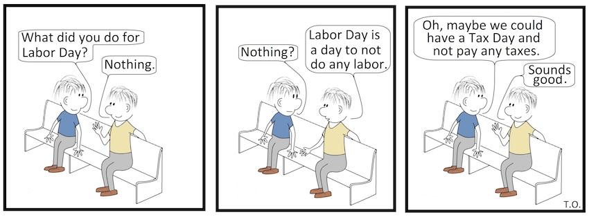 Cartoon by Terry O'Neill