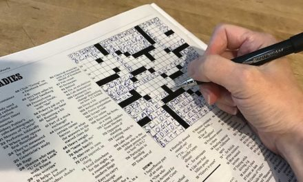 Crossword Puzzle, August 29, 2018