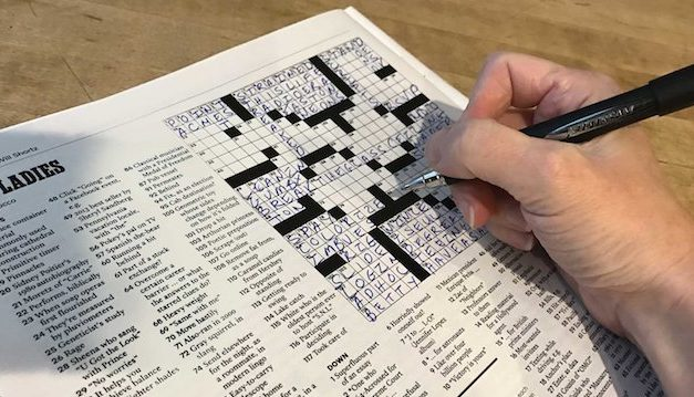 Crossword Puzzle, December 26, 2018