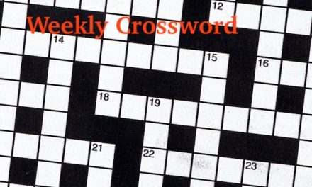 Crossword Puzzle of the Week, November 25, 2020