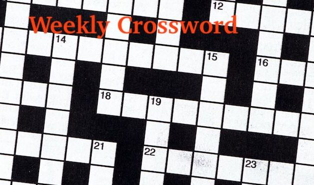 Crossword Puzzle, October 10, 2018