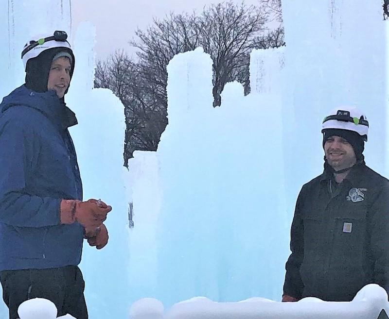 Ice Castle Lake Geneva