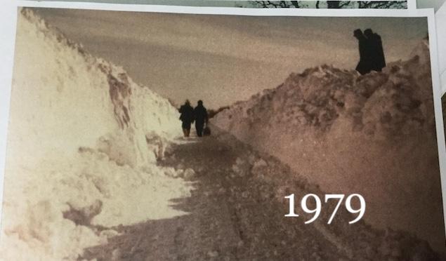 Snow near Zenda 1979