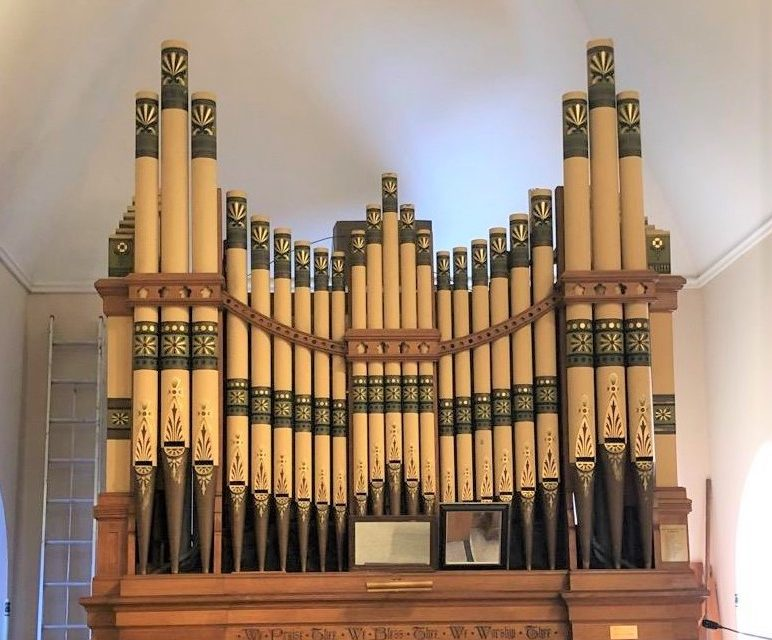 Pipe Organ Returns, June 23, 2019