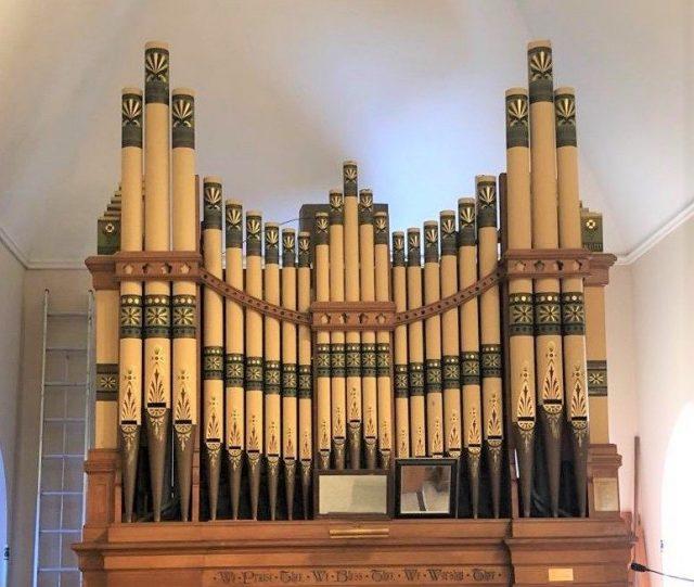 Pipe Organ Holy Communion Church Lake Geneva