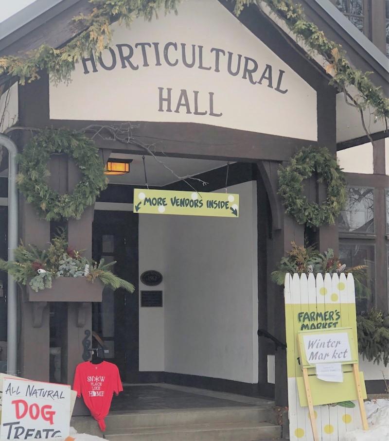 Horticultural Hall Winter Market lake Geneva