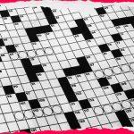 Crossword Puzzle August 14, 2019