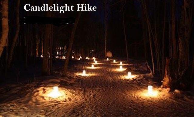 Candlelight Hike Lake Geneva