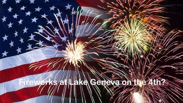 Fireworks Lake Geneva