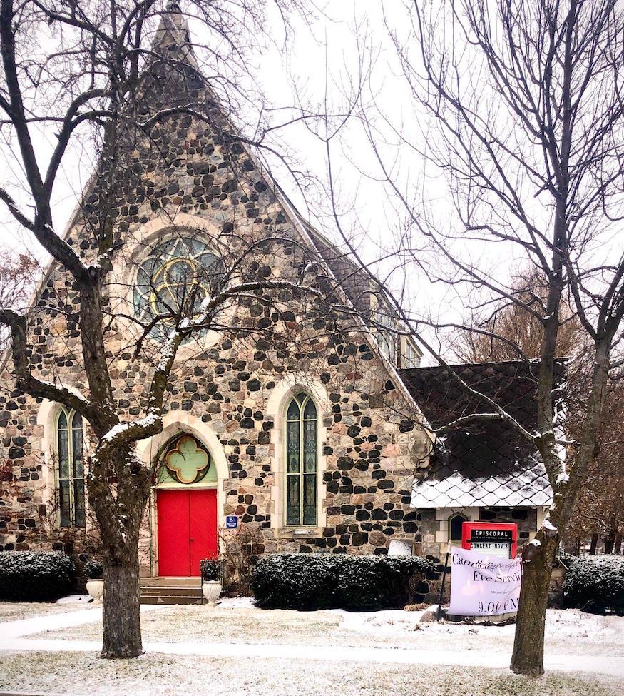 The historic Episcopal Church of the Holy Communion Lake Geneva