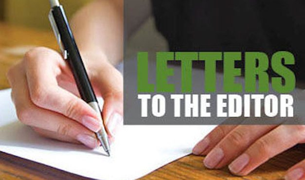Letters To The Editor, January 8, 2020