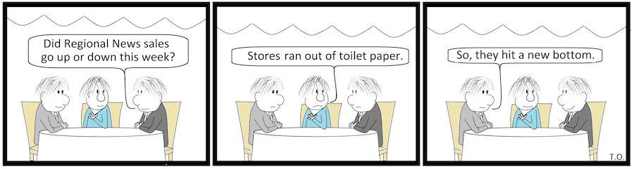 Cartoon by Terry O'Neil