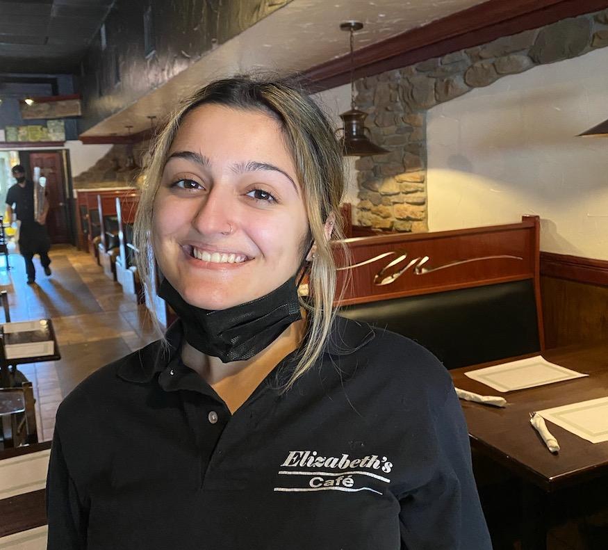 Leunora Abemi of Elizabeth's Cafe, Delevan WI
