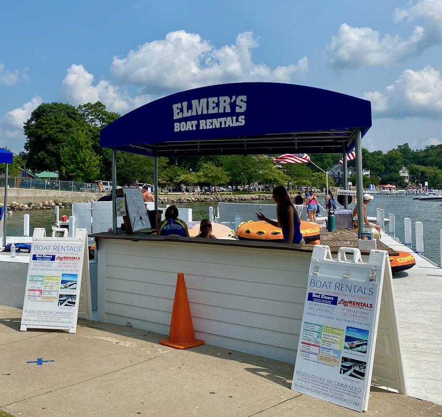 Elmers Boat Rental Lake Geneva